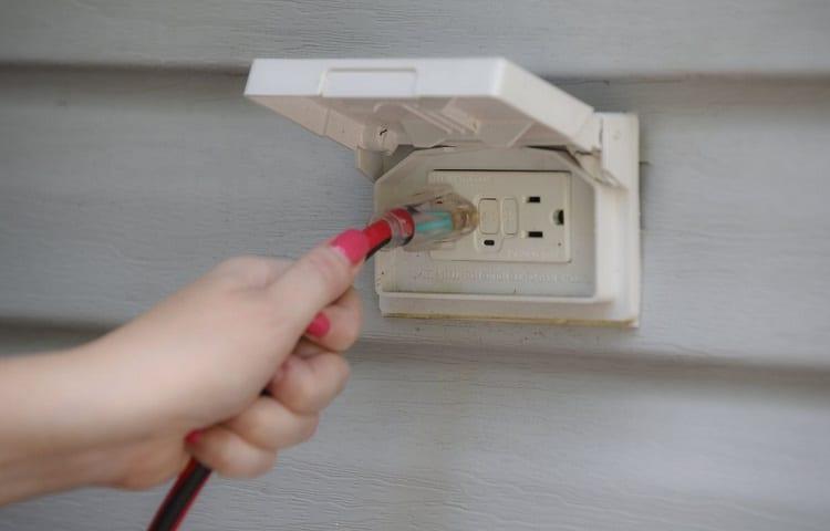 power socket for fridge