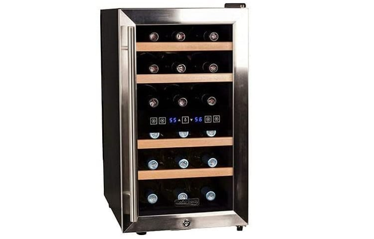 Koldfront Free Standing Dual Zone Wine Cooler Review