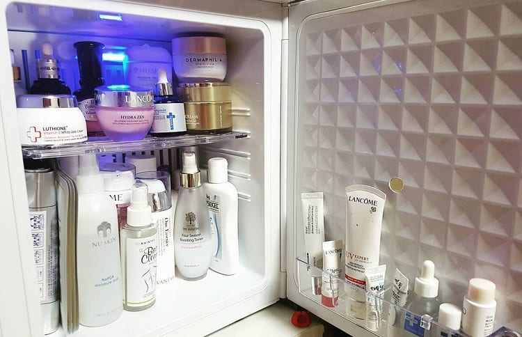make up in large fridge