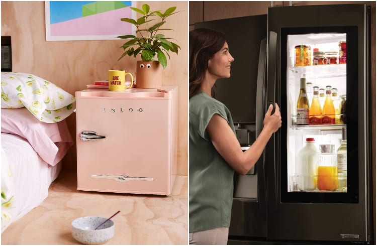 energy efficiency of mini fridge and regular fridge