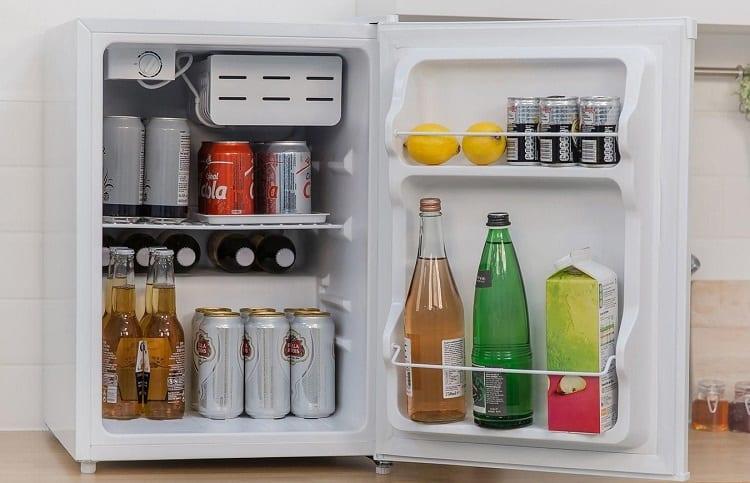energy consumption of mini fridge
