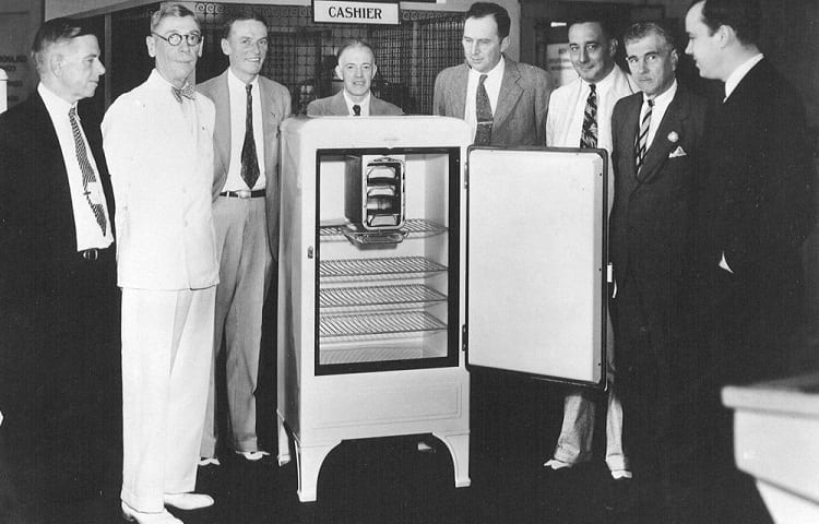history of refrigerators
