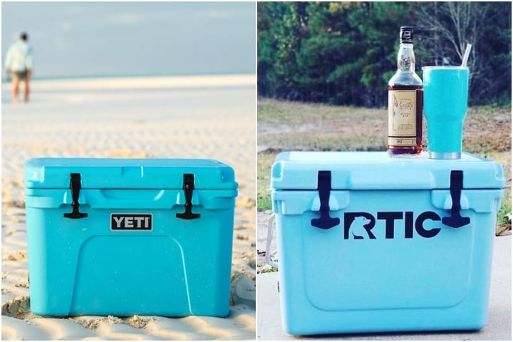similar design of rtic and yeti coolers
