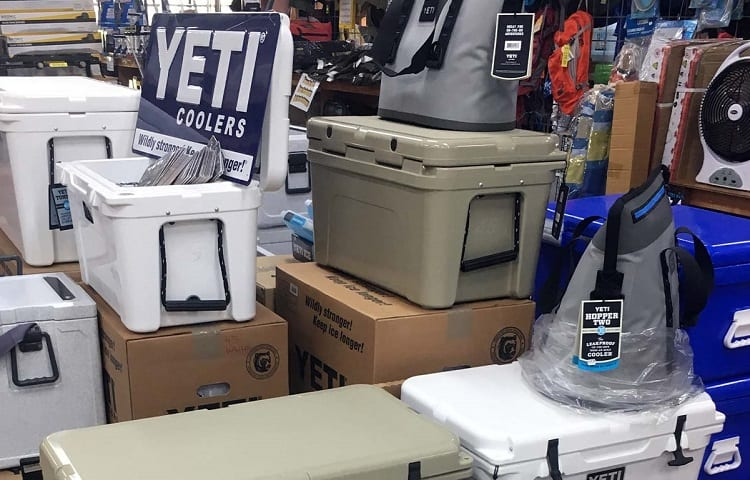 price range for coolers