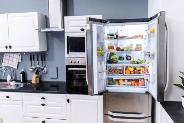 Refrigerator Door Left Open